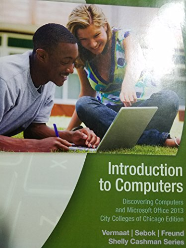 9781305008410: CIS 101 Introduction to Computers