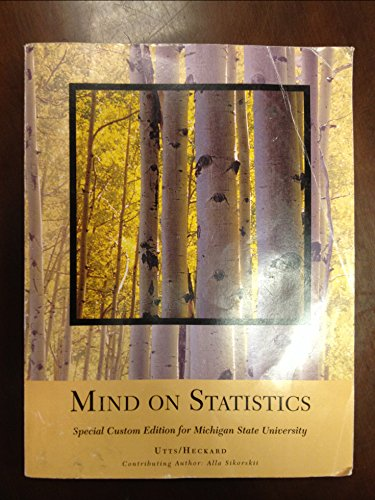 9781305009295: Mind on Statistics [Custom for Michigan State University]