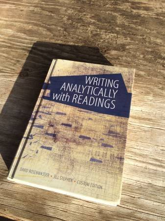 9781305010079: Writing Analytically with Readings (Custom Edition for Fresno State)