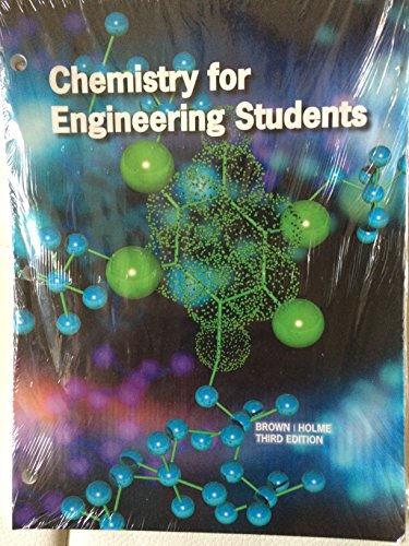9781305010697: Chemistry for Engineering Students, Third Edition