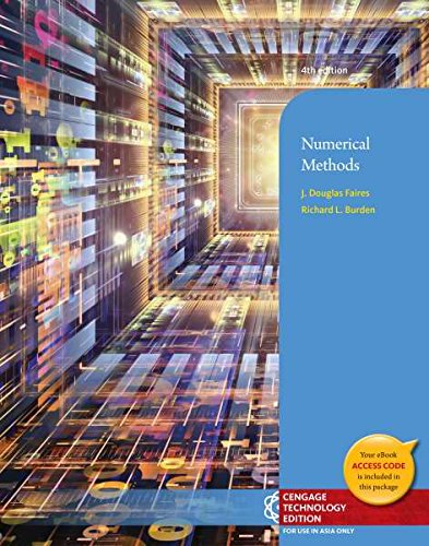9781305013056: Numerical Methods, 4th Edition (Not Textbook, Access Code Only)