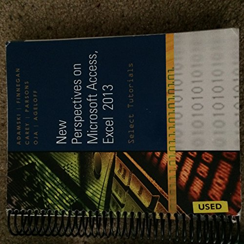 9781305013544: New Perspectives on Microsoft Access, Excel 2013: Select Tutorials