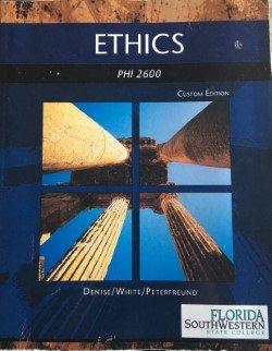 9781305014008: Ethics PHI 2600 Florida Southwestern State College