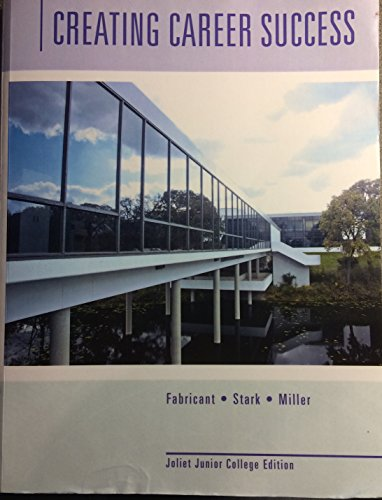 9781305014190: Creating Career Success - Joliet Junior College Edition