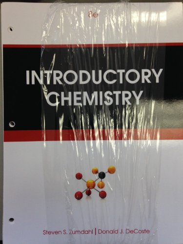 9781305014534: Introductory Chemistry >IC<
