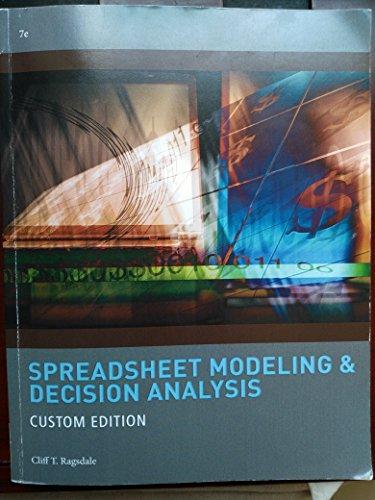 9781305014664: Spreadsheet Modeling & Decision Analysis