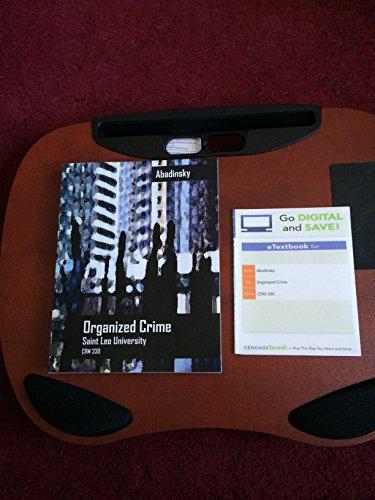 9781305015326: Organized Crime (Ll) Custom Package 10th Organized Crime-ebook Access