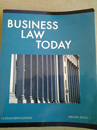 9781305015500: Business Law Today