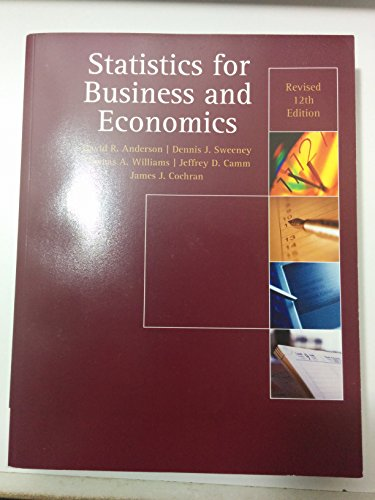 9781285556734 statistics for business economics 12th edition 9781305017726 statistics for business economics revised 12e fandeluxe Images