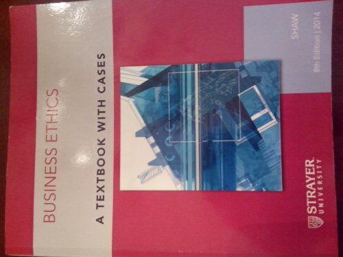 9781133943075 business ethics a textbook with cases abebooks 9781305019454 business ethics fandeluxe Choice Image