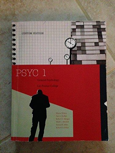 9781305019911: Psyc 1 Custom Edition General Psychology Las Positas College