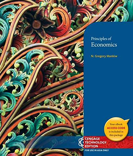 9781305020351: Principles of Economics 7th Edition By N. Gregory Mankiw (Not Textbook, Access Code Only)