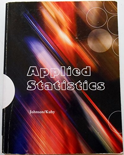 9781305021402: Applied Statistics Custom for MTH 200 Bloomfield College