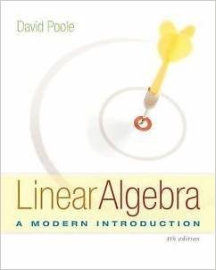 9781305022409: Linear Algebra: A Modern Introduction