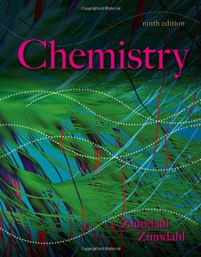 9781305024953: Chemistry (Not Textbook, Access Code Only) By Steven S. Zumdahl and Susan A. Zumdahl 9th Edition