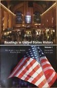 Readings in the United States History Vol.: Wright, Watson, Brick