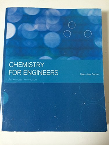9781305026414: Chemistry For Engineers An Applied Approach