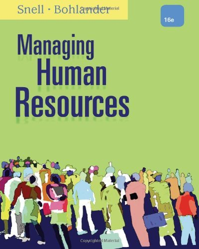 9781305026544: Managing Human Resources (Not Textbook, Access Code Only) By Scott A. Snell and George W. Bohlander 16th Edition