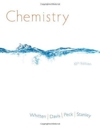 9781305027817: Chemistry (Not Textbook, Access Code Only) By Kenneth W. Whitten, Raymond E. Davis, Larry Peck and George G. Stanley 10th Edition
