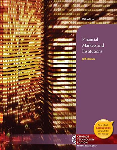 9781305028005: Financial Markets and Institutions, 11th Edition (Not Textbook, Access Code Only)