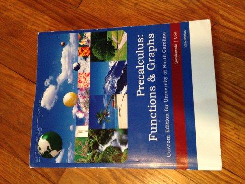 9781305028067: Precalculus: Functions & Graphs