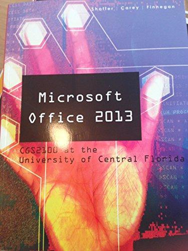 9781305028074: Microsoft Office 2013