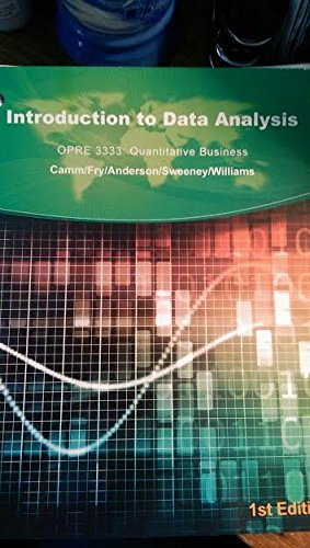 9781305029101: Introduction to Data Analysis
