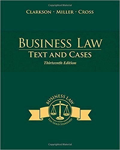 9781305031982: Southern New Hampshire University Business Law TEXT and CASES