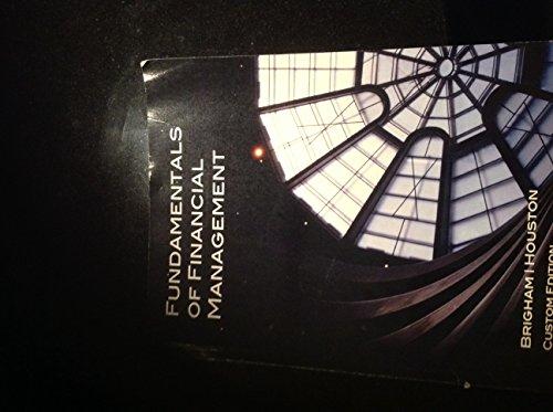 9781305032231: Fundamentals of Financial Management