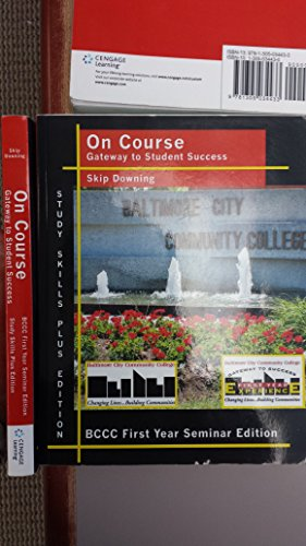 9781305034433: On Course: Gateway to Student Success