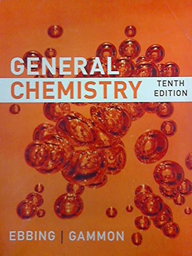 9781305034532: General Chemistry, Tenth Edition