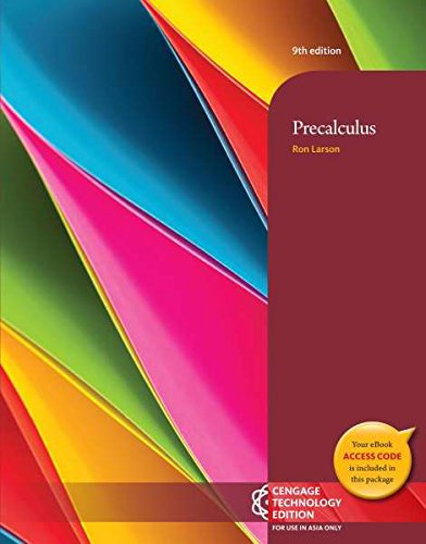9781305037700: Precalculus 9E (Not Textbook, Access Code Only) by Ron Larson