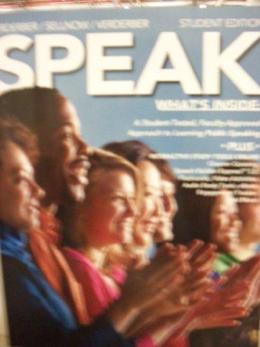 9781305038516: Speak