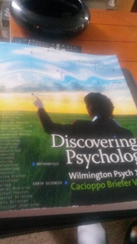 discovering psychology: cacioppo freberg
