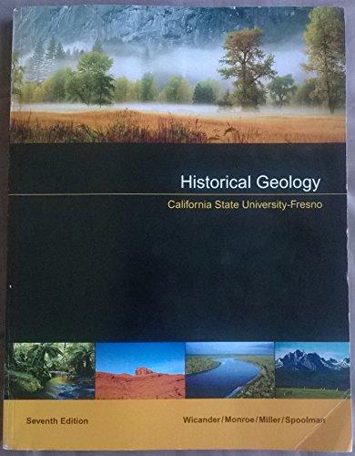 9781305042513: Historical Geology California State University-Fresno