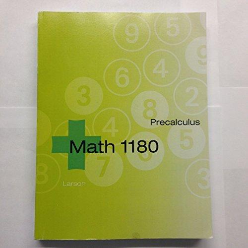 9781305042902: Precalculus [MATH 1180]