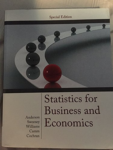 9781305045330: ACP Statistics for Business and Economics