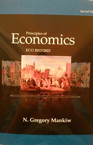 9781305046290: Principles of Economics ECO 2013/2023 - Seventh Edition (7th) by N. Gregory Mankiw {USA Paperback Special Economy Edition}(Book only)