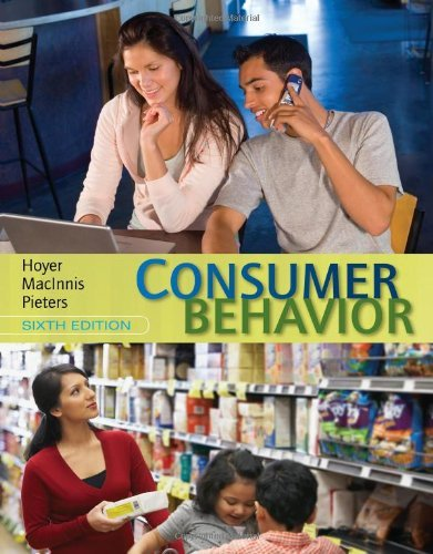 9781305046443: Consumer Behavior (Not Textbook, Access Code Only) By Wayne D. Hoyer, Deborah J. Macinnis and Rik Pieters 6th Edition