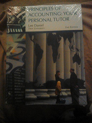 9781305047594: PRINCIPLES OF ACCOUNTING: YOUR PERSONAL TUTOR