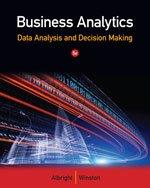 9781305049635: Business Analytics: Data Analysis & Decision Making
