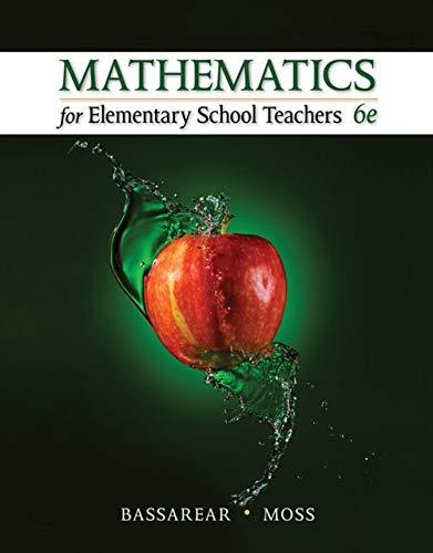 9781305071360: Mathematics for Elementary School Teachers