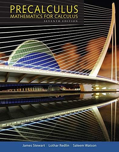 9781305071759: Precalculus: Mathematics for Calculus