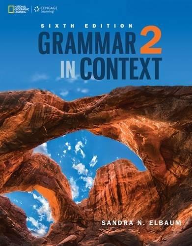 9781305075382: Grammar in Context 2 (Grammar in Context, New Edition) Standalone book