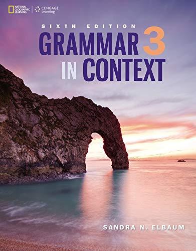 9781305075399: Grammar in Context 3 (Grammar in Context, New Edition)