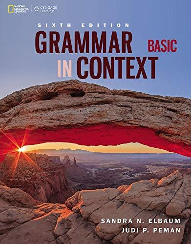 9781305075405: Grammar in Context Basic (Grammar in Context, New Edition)
