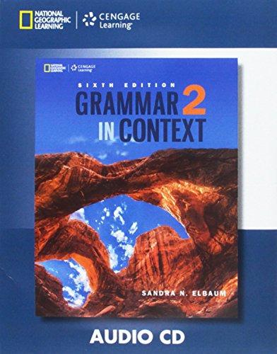 9781305075504: Grammar in Context 2: Audio CD (Grammar in Context, New Edition)