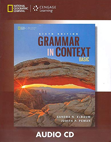 9781305075603: Grammar in Context Basic Audio CD
