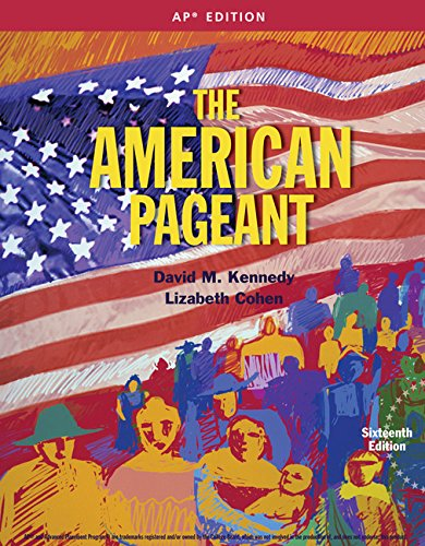 9781305075917: The American Pageant 16th AP Edition