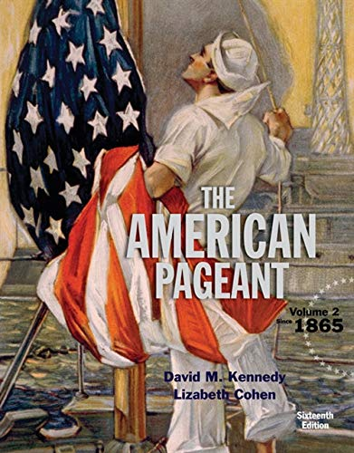 9781305075924: American Pageant, Volume 2